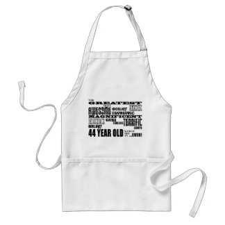 44th Birthday Party Greatest Forty Four Year Old Standard Apron