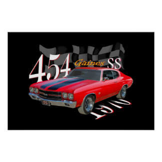 454 SS POSTER