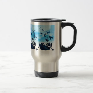 4 AND 20 BLACKBIRDS STAINLESS STEEL TRAVEL MUG
