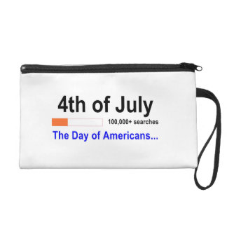 4th of july accessories for girls wristlet clutch