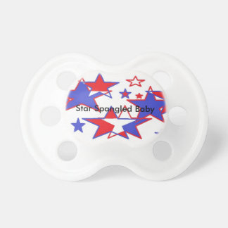 4th of July Baby Pacifier