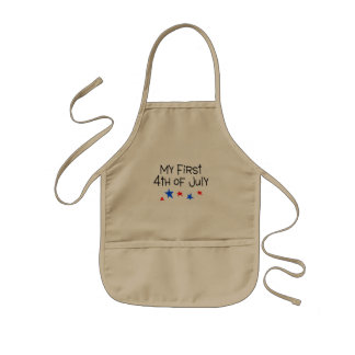 4th of July My First 4th of July (Stars) Kids Apron