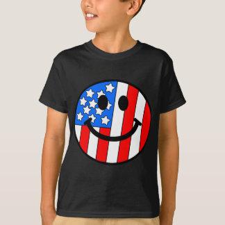 4th of July Smiley Tshirt
