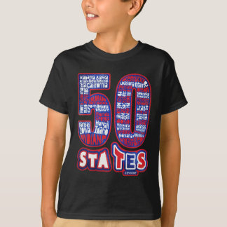 50 STATES THE USA SHIRT
