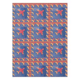 "52""x70"" Tablecloths Party Table Decor Aeroplanes Tablecloth"