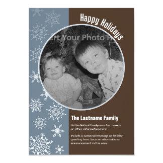 5x7 Double-sided Holiday Photo Card 13 Cm X 18 Cm Invitation Card