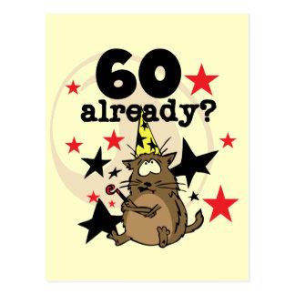 60 Already Birthday Postcard