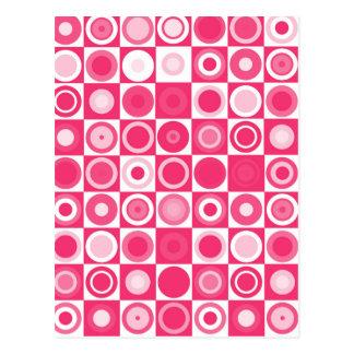 60's Fab Pink Postcard