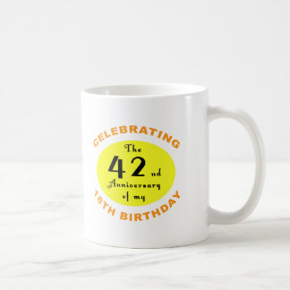 60th Birthday Gag Gift Basic White Mug