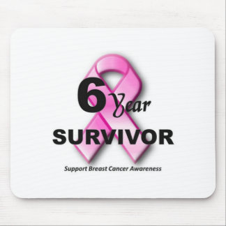 6 year survivor of breast cancer mouse pad