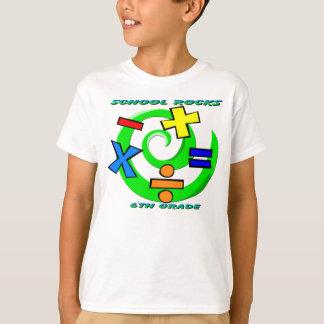 6th Grade Rocks - Math Symbols T-shirt