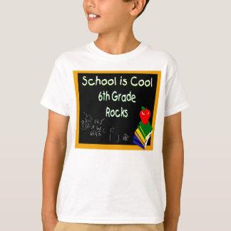 6th Grade School is Cool Chalk Board Tee Shirts