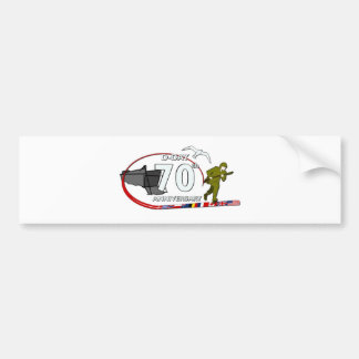 70th D-Day anniversary Bumper Sticker