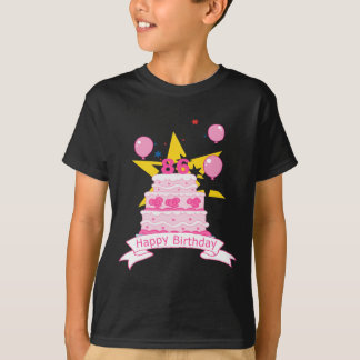 86 Year Old Birthday Cake T-shirts