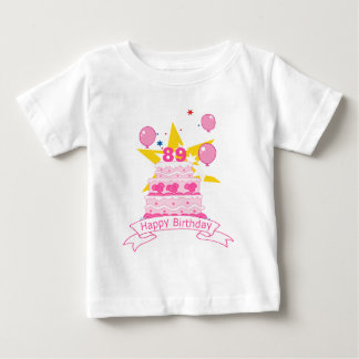 89 Year Old Birthday Cake T Shirt