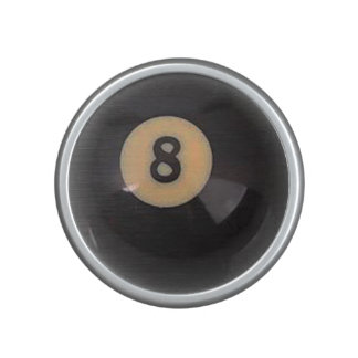 """""""8 Ball"""" pool ball design gifts and products Speaker"""