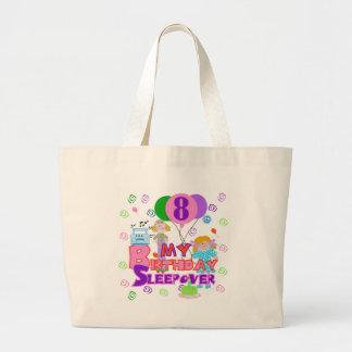 8th Birthday Sleepover Jumbo Tote Bag