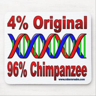 96% chimp mouse pad