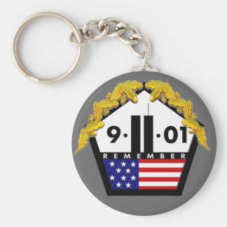 9-11-01 BASIC ROUND BUTTON KEY RING