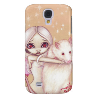 A Beautiful Rat iPhone 3 Case albino fairy