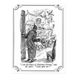 A Christmas Carol: The Ghost of Christmas Present Postcard