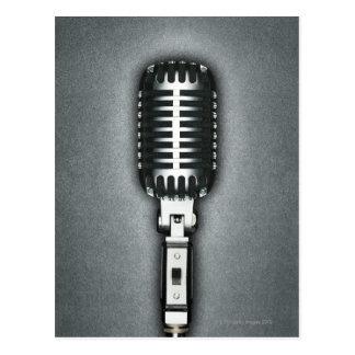 A Classic microphone Postcard