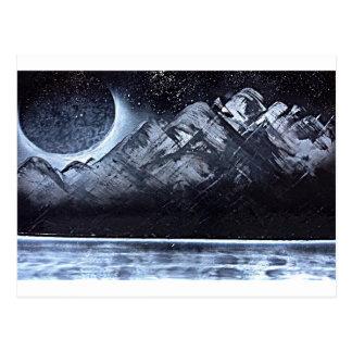 A Cold Night Somewhere Postcard