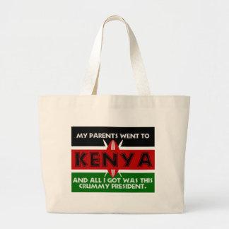A Crummy Souvenir of Kenya Jumbo Tote Bag