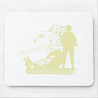 A Faithful Soldier Mouse Pad