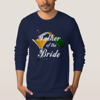 A Father of the Bride Champagne Toast Tshirts