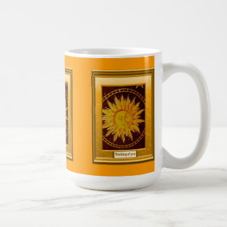 A feast of colour, The man in the moon Basic White Mug