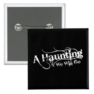 A Haunting We Will Go LLC Logo Buttons