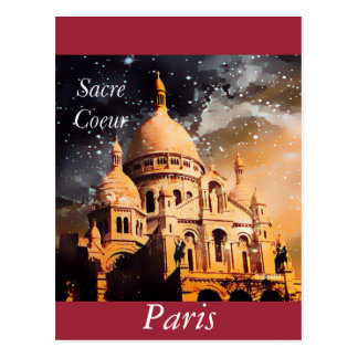 A Homage at Paris Postcard