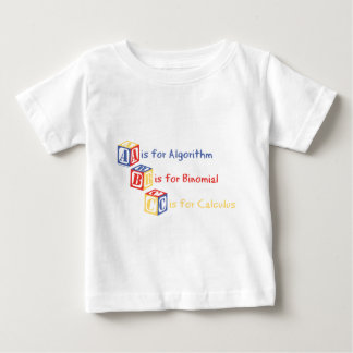 A is for Algorithm T-shirts