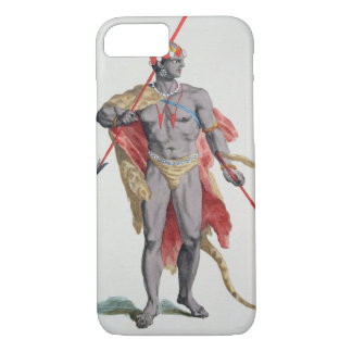 A Man from the Caribbean, 1780 (coloured engraving iPhone 7 Case
