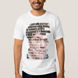 A man with Aspergers Shirts