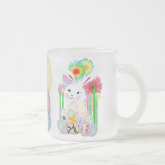 A Nice and Normal Easter Bunny Frosted Glass Mug