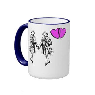 A pair of dandies ringer mug