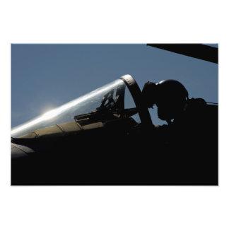 A pilot prepares for take-off photograph