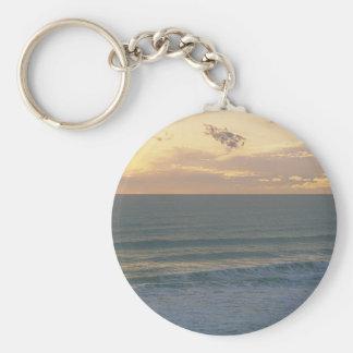 A Sea Side Dream Basic Round Button Key Ring