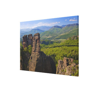 A walk throught Belogradchik Castle Ruins Gallery Wrapped Canvas