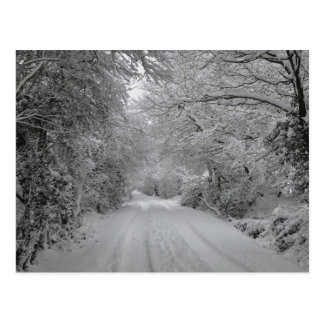 A Winters Day Postcard