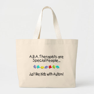 ABA Therapists Are Special People Jumbo Tote Bag