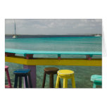 ABC Islands, BONAIRE, Kralendijk: Ocean View Greeting Card