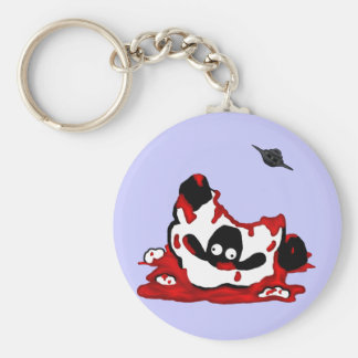 Abducted Sheep Keychain