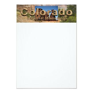 ABH Colorado NM 13 Cm X 18 Cm Invitation Card