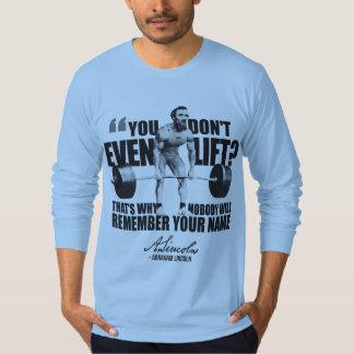 Abraham Lincoln Gym Humor - Do You Even Lift? Tshirts