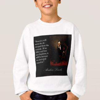Abraham Lincoln Quote & Portrait T-shirts
