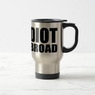 abroad stainless steel travel mug