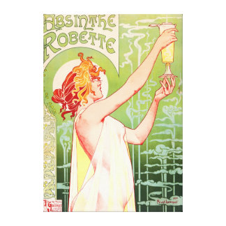 Absinthe Robette Gallery Wrapped Canvas